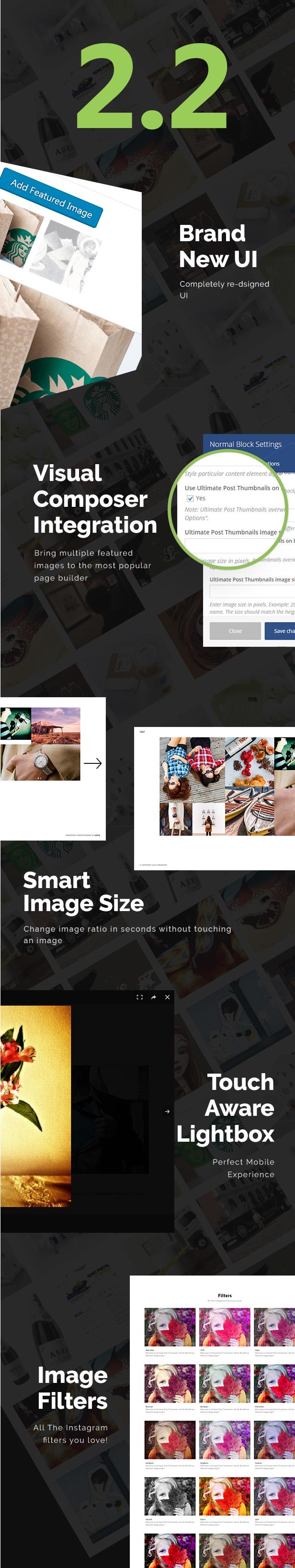 Ultimate Post Thumbnails WordPress Plugin - 1